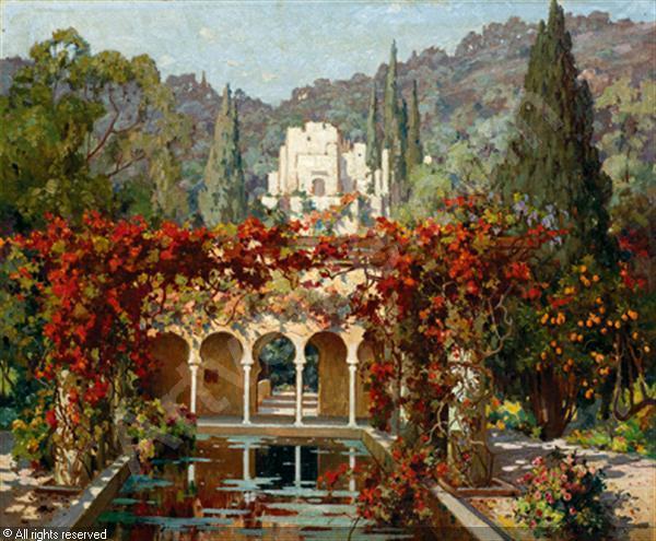 Portrait villa et jardin d algerie l 39 algerie ses for Jardin olof palme alger